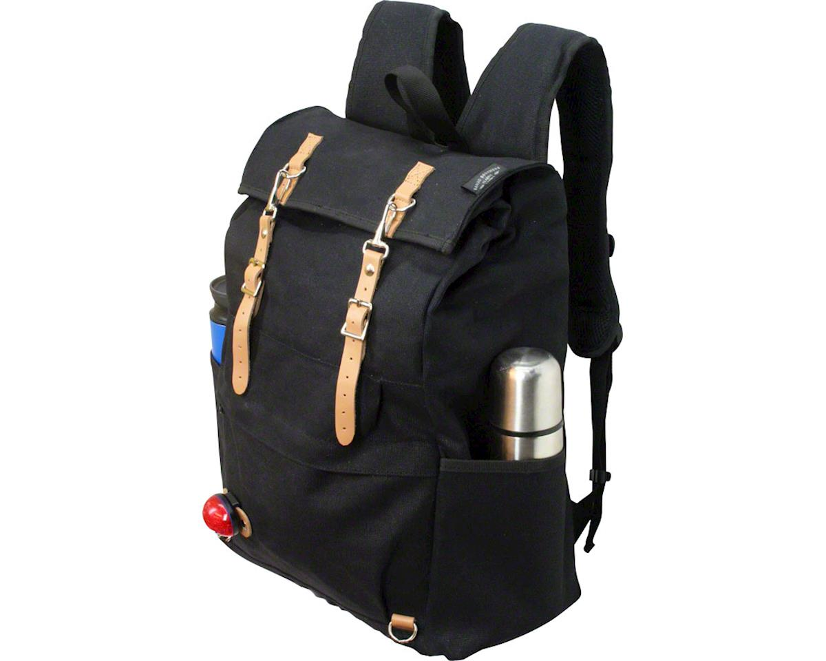 Banjo Brothers Canvas Cycling Rucksack (Black)