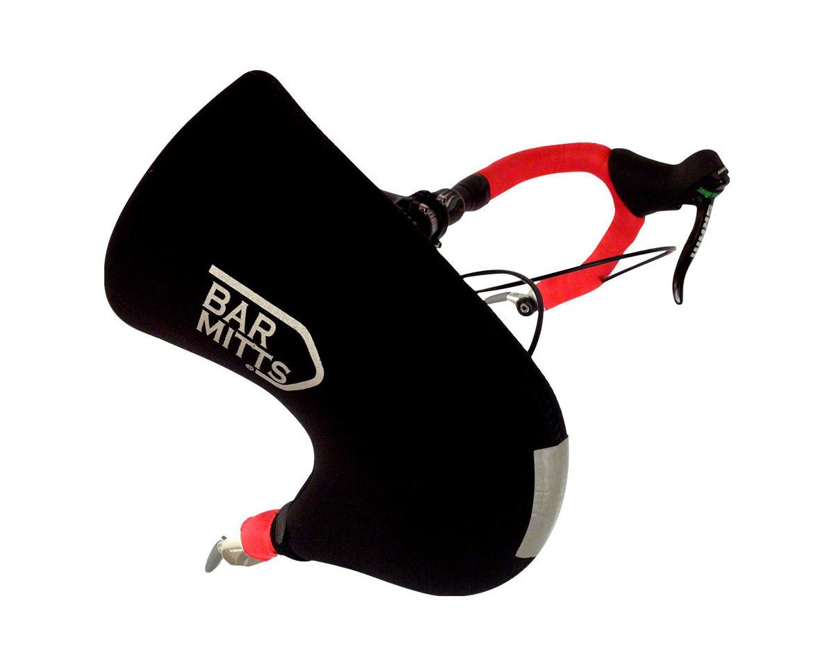 Bar End Shifter Pogie Handlebar Mittens: One Size, Black