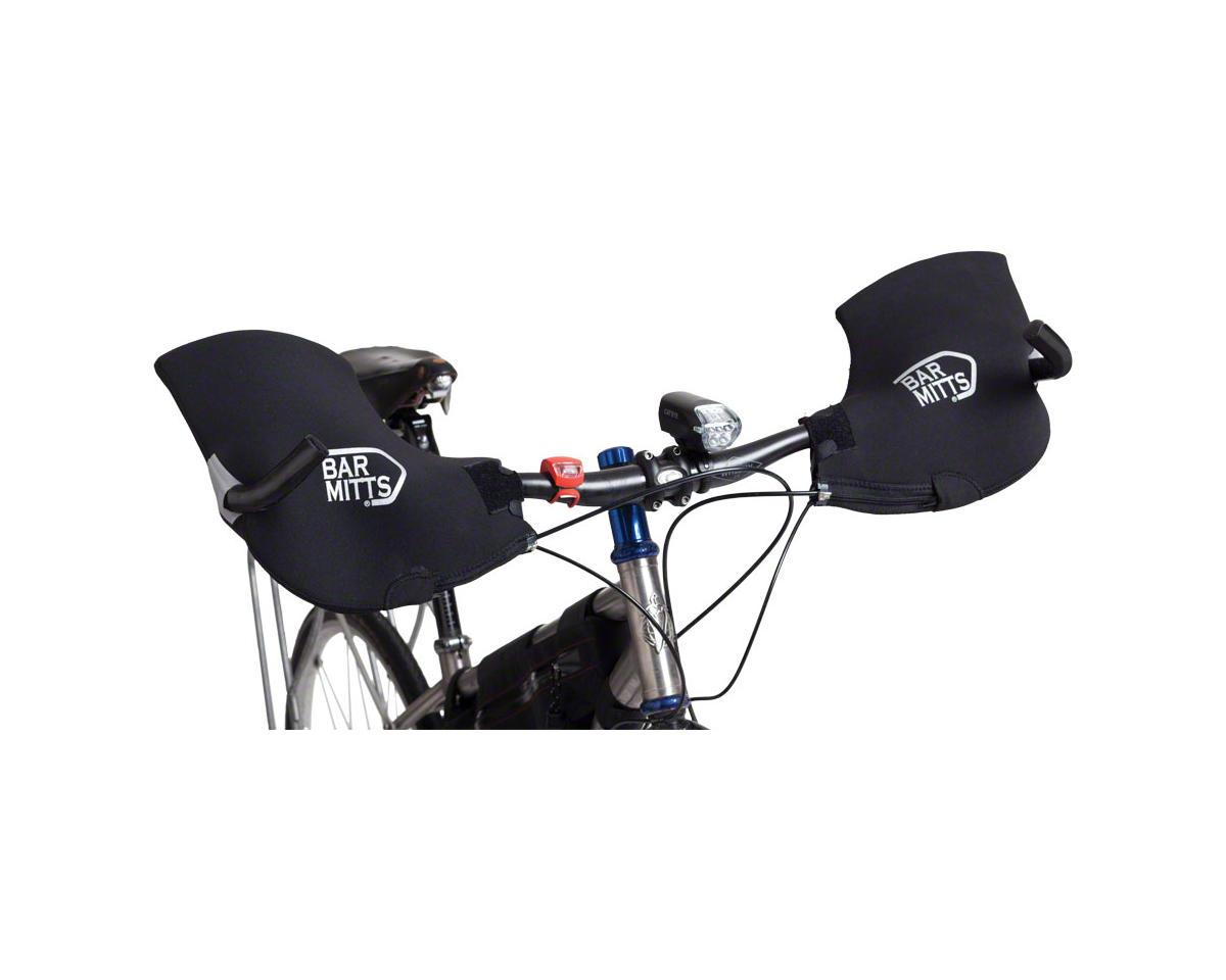 Mountain / Commuter Pogie Handlebar Mitten: for Bar Ends LG Black