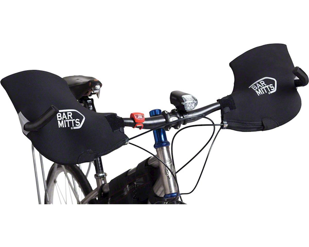 Bar Mitts Mountain / Commuter Pogie Handlebar Mitten: for Bar Ends XL Black