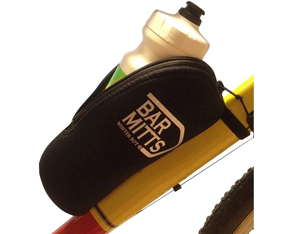 Bar Mitts Winter Bot Pogie Water Bottle Mitten: Black