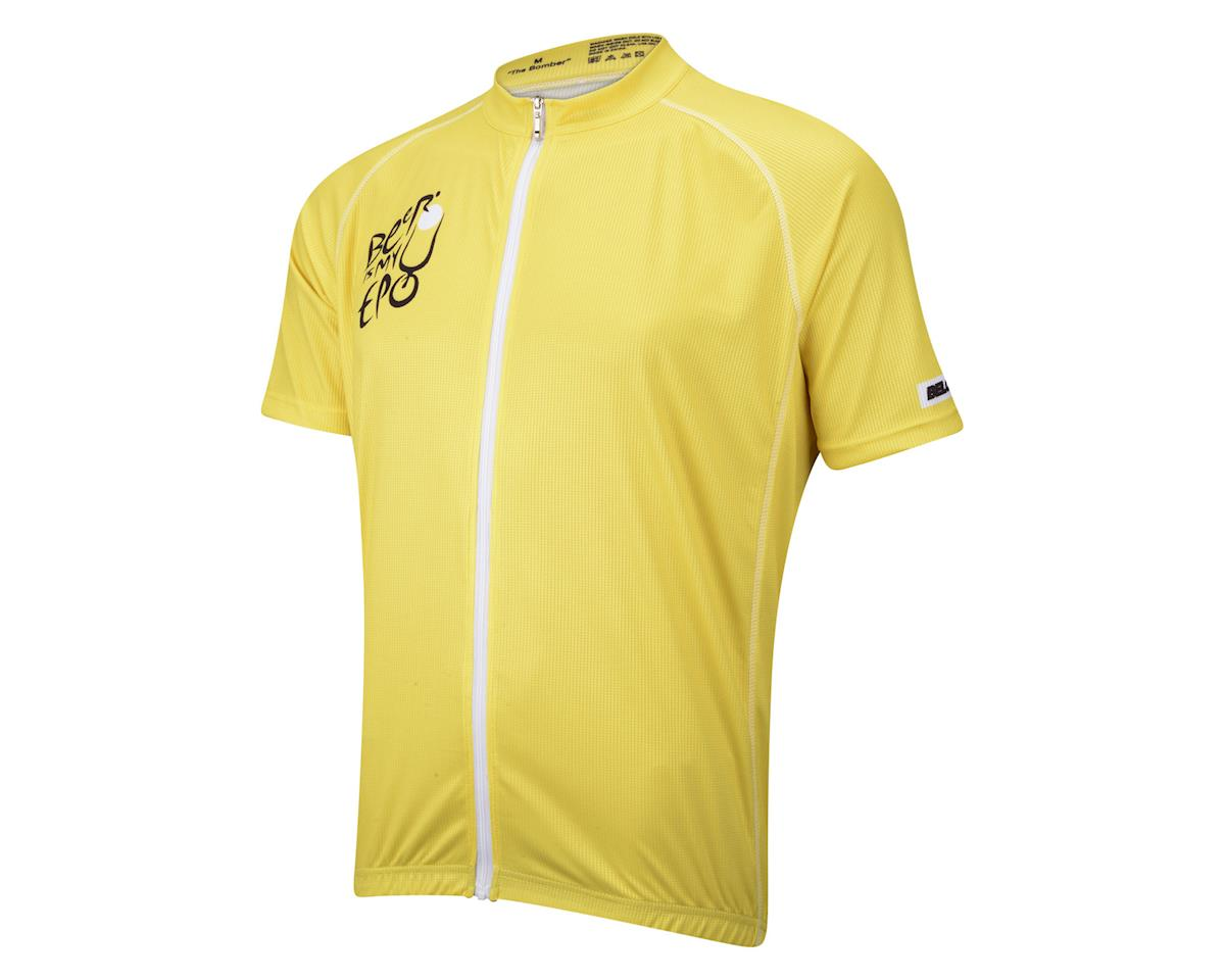 Belch Beer Is My EPO Short Sleeve Jersey (Yellow)