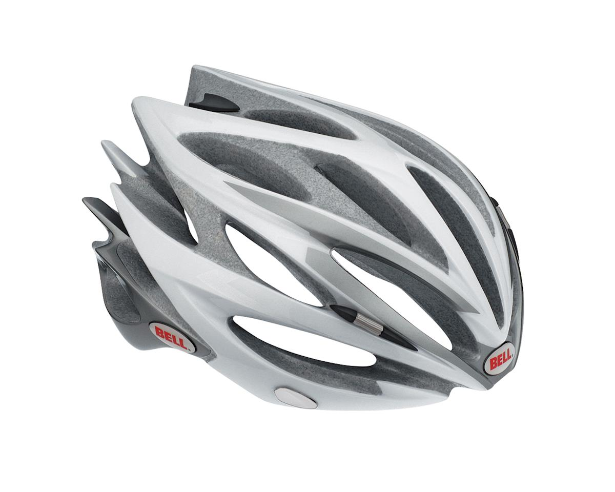Bell Sweep Race Helmet (Wh/Sil) (Large)