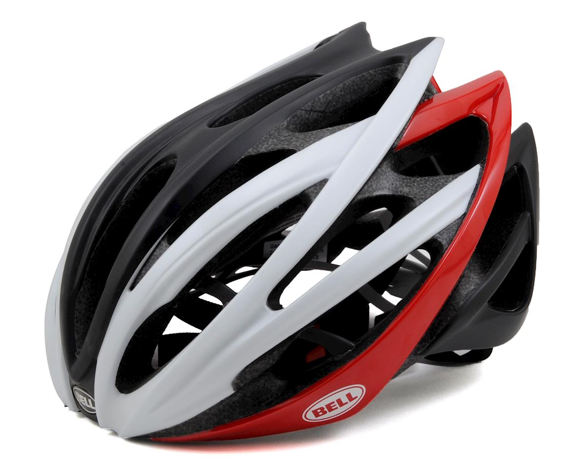 Bell Gage Road Helmet (White/Black/Red) (L)
