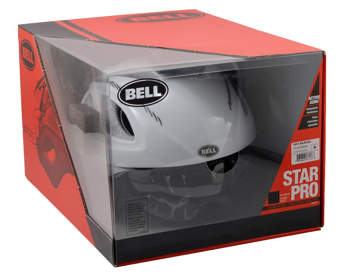 Bell Star Pro Shield (White Marker)