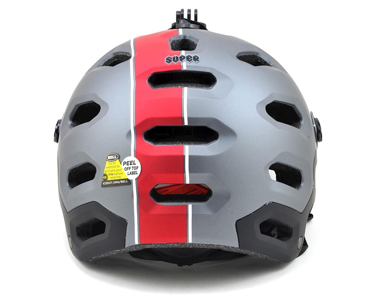 Bell Super 2 MTB Helmet (Matte Titanium/Red Viper)