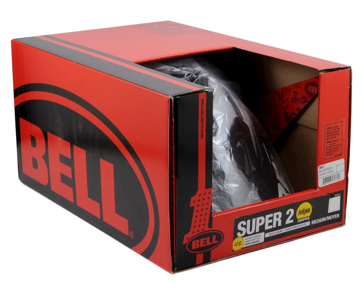 Bell Super 2 MIPS MTB Helmet (White) (S)