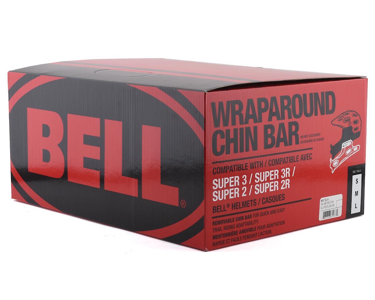 Bell Super 2R Wraparound Chinbar (Matte Black) (L)