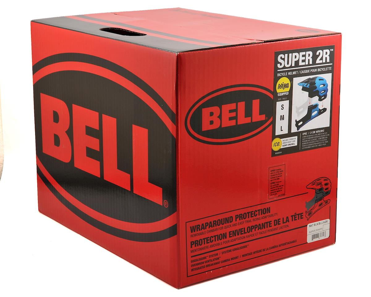 Bell Super 2R MIPS MTB Helmet (Matte Black/Blue Aggression) (M)