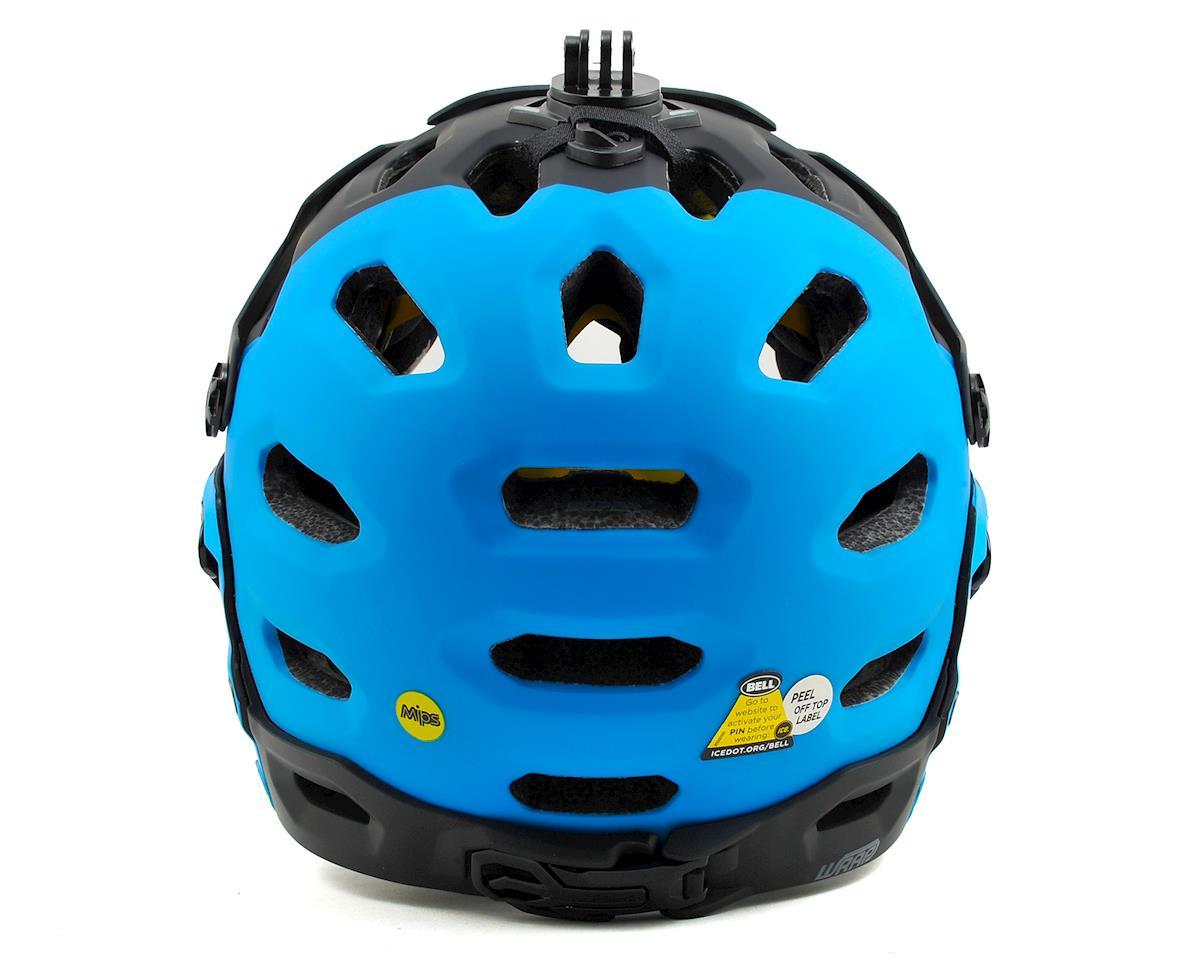 Bell Super 2R MIPS MTB Helmet (Matte Black/Blue Aggression) (L)