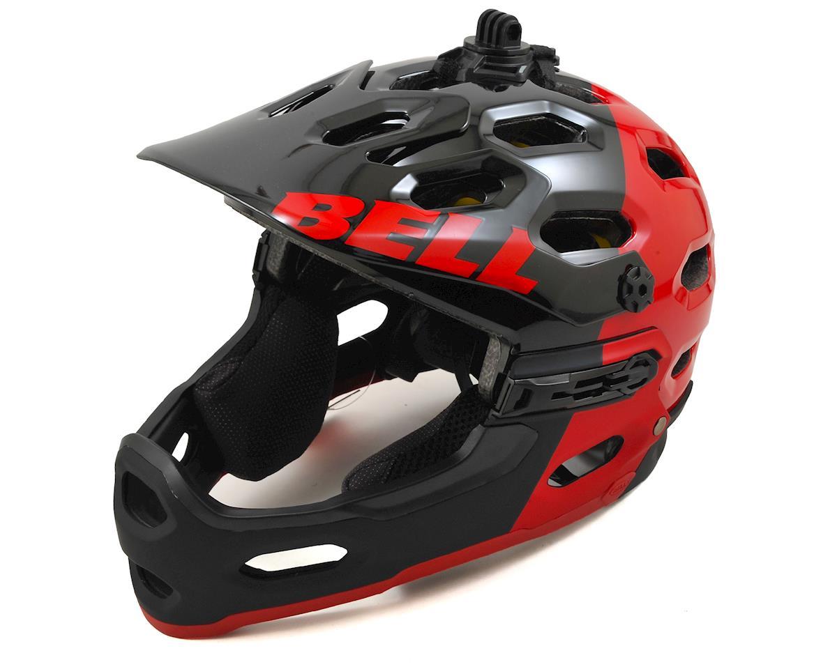 Bell Super 2R MIPS MTB Helmet (Red/Black Aggression) (M)
