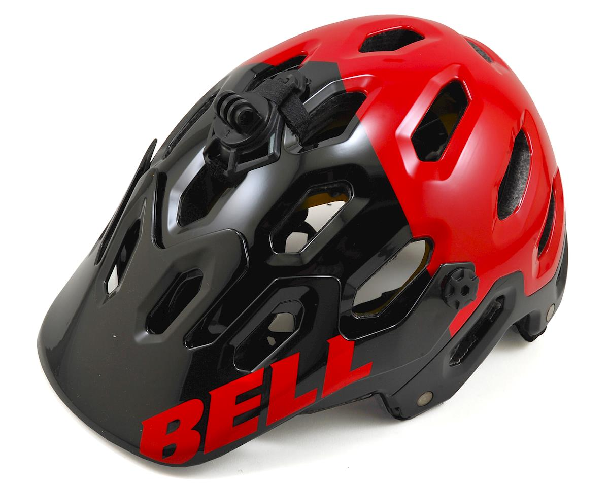 Bell Super 2R MIPS MTB Helmet (Red/Black Aggression) (L)