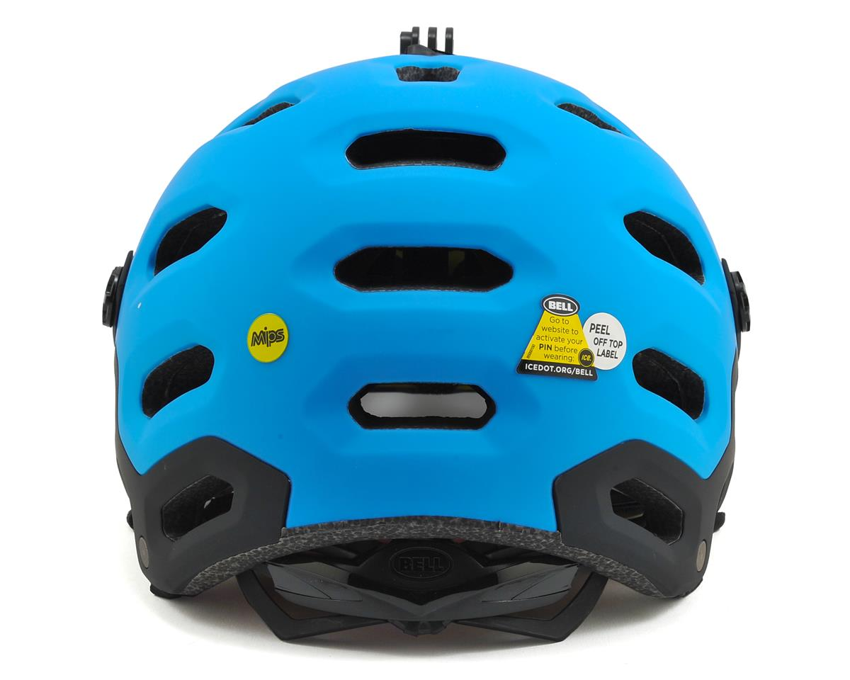 Bell Super 2 MIPS MTB Helmet (Matte Black/Blue Aggression)