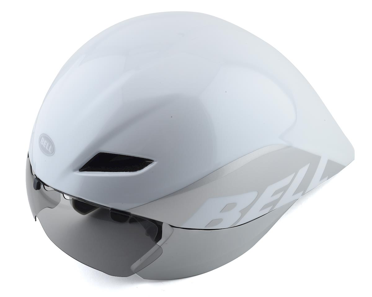 Bell Javelin Aero Helmet (White/Silver) (L)