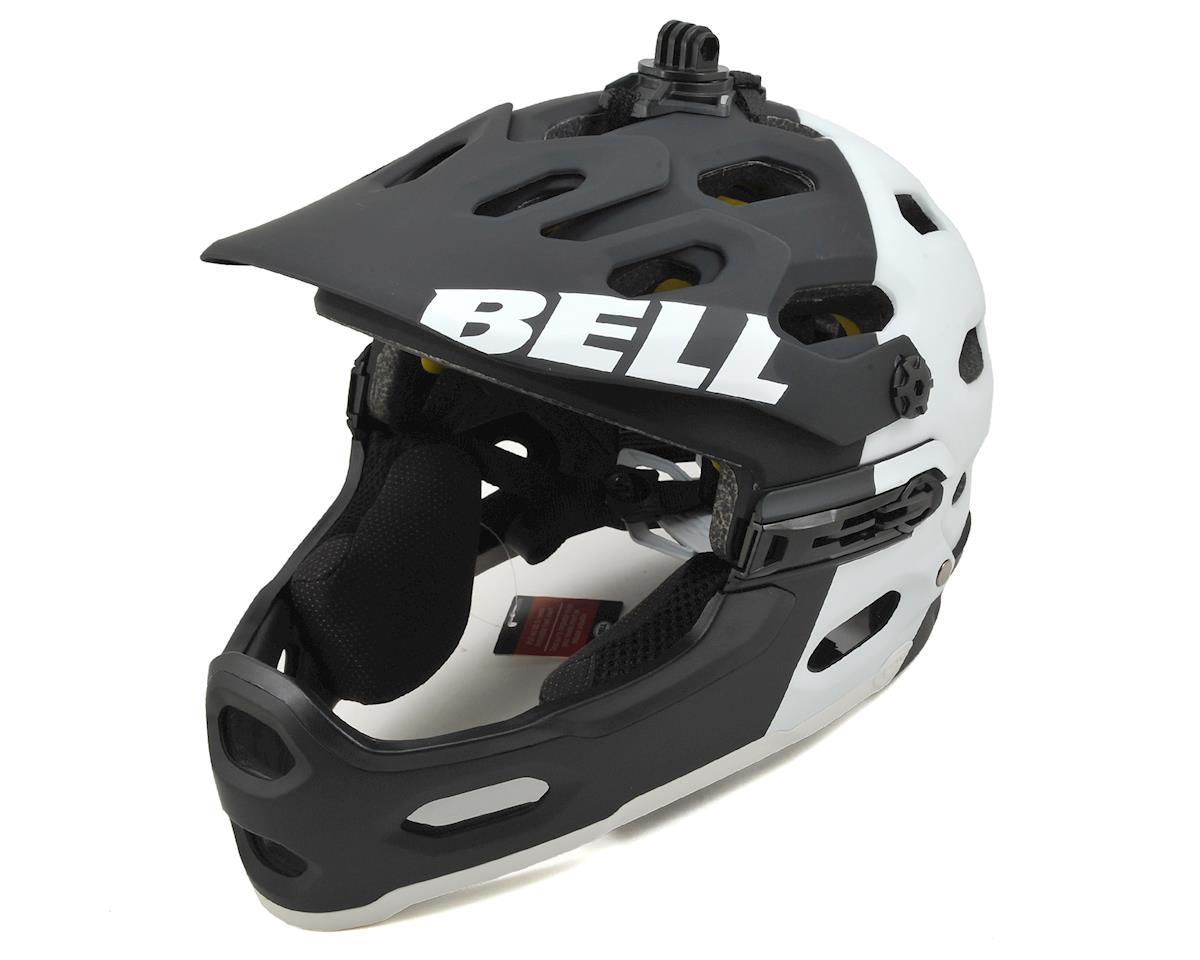 SCRATCH & DENT: Bell Super 2R MIPS MTB Helmet (Matte Black/White Aggression) (S)