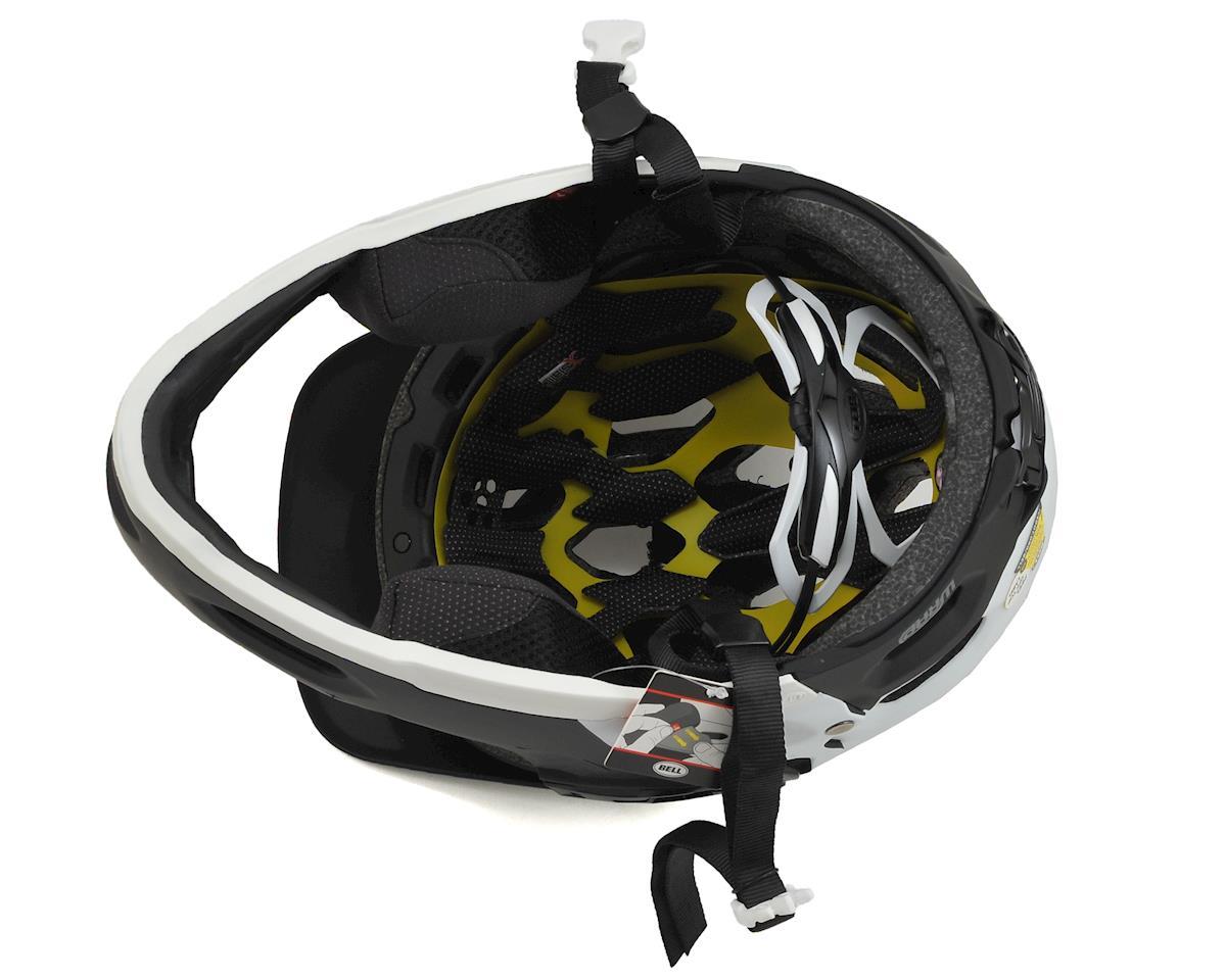Bell Super 2R MIPS MTB Helmet (Matte Black/White Aggression) (L)