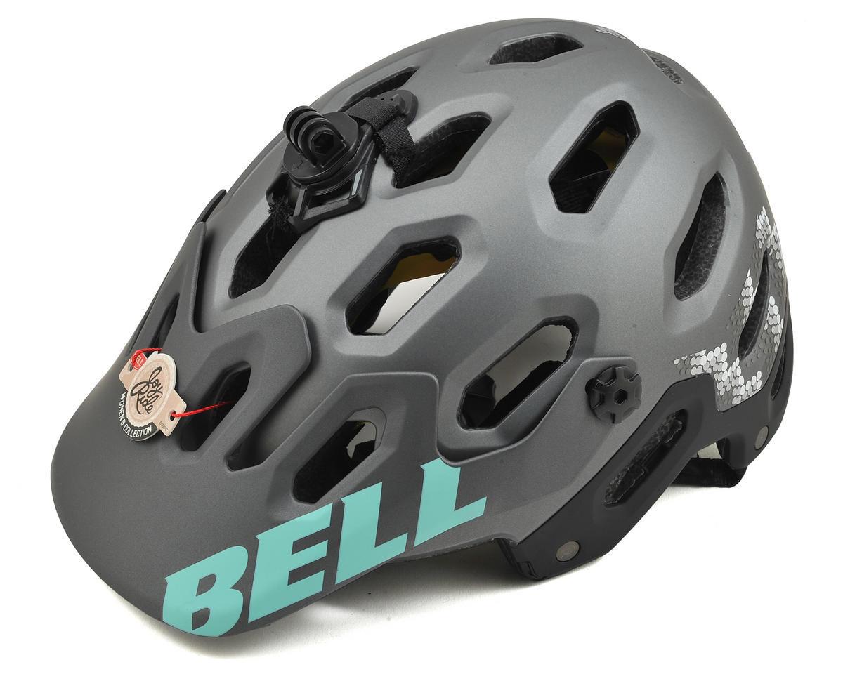 Super 2 MIPS Joyride Women's MTB Helmet (Matte Gunmetal Shimmer)