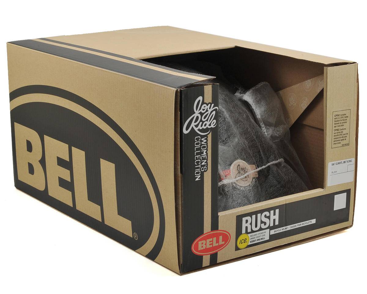 Bell Rush MIPS Women's Helmet ('16) (Matte Gunmetal/Mint Sonic) (M)