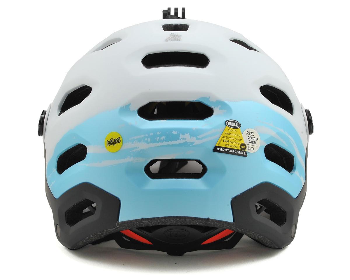 Bell Super 2 MIPS Joyride Women's MTB Helmet (Matte White/Glacier Blue Sonic) (S)