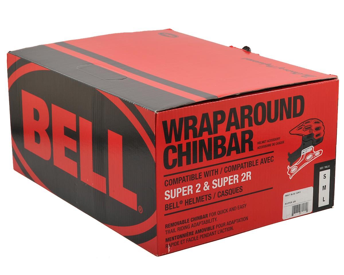 Bell Super 2R Wraparound Chinbar (Matte Black/Gray)
