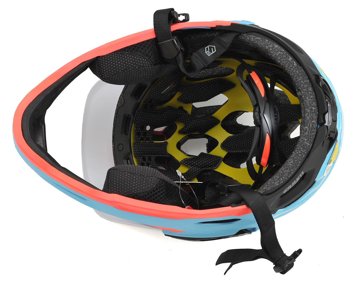 Bell Super 2R MIPS Joyride Women's MTB Helmet (Matte White/Glacier Blue Sonic)