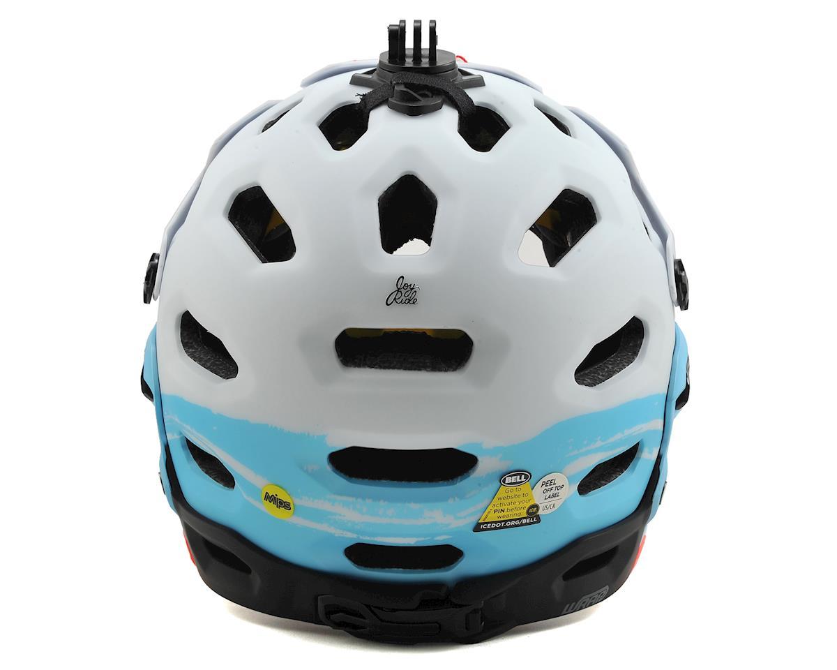 Bell Super 2R MIPS Joyride Women's MTB Helmet (Matte White/Glacier Blue Sonic) (M)