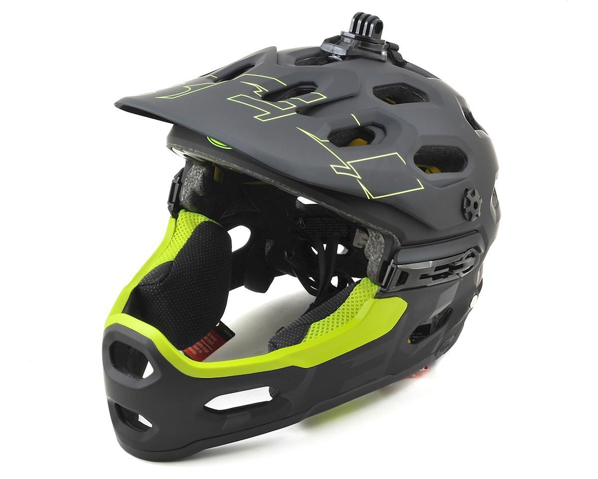 Bell Super 3R MIPS Convertible MTB Helmet (Matte Black/Retina Sear)