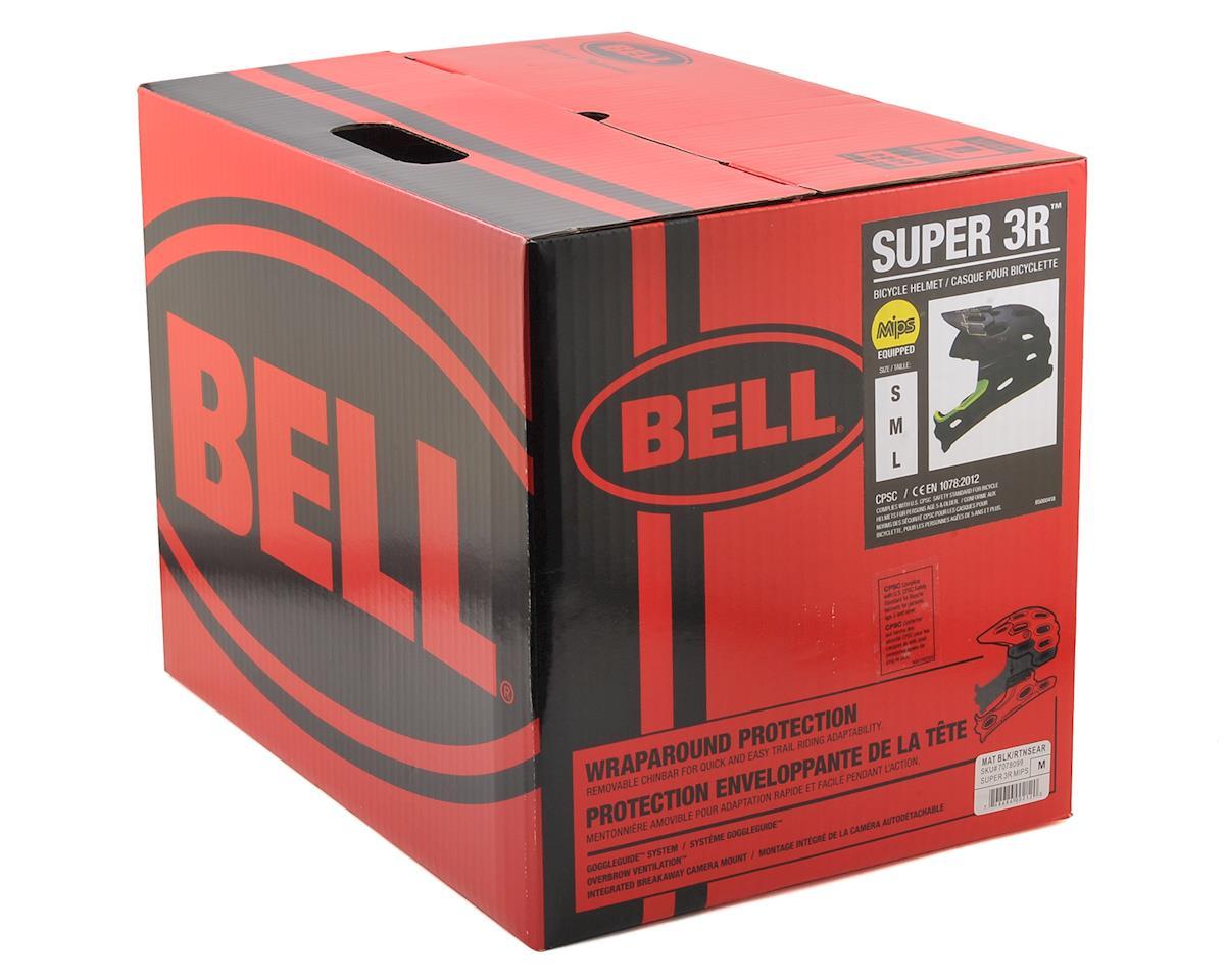 Bell Super 3R MIPS Convertible MTB Helmet (Matte Black/Retina Sear) (M)