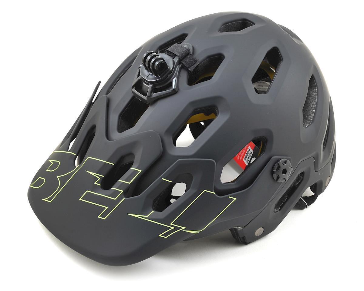 Bell Super 3R MIPS Convertible MTB Helmet (Matte Black/Retina Sear) (L)