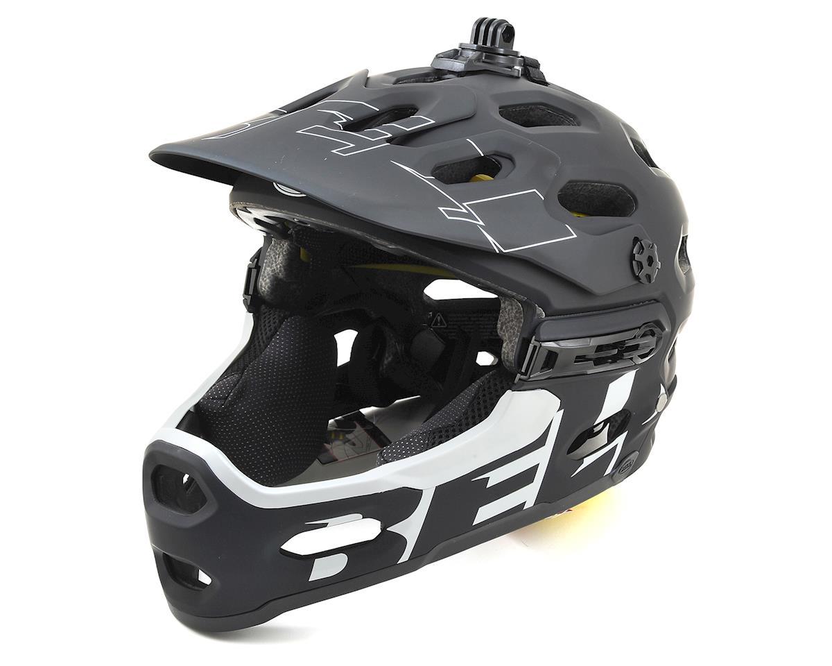 Bell Super 3R MIPS Convertible MTB Helmet (Matte Black/White) (M)