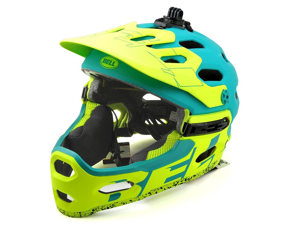 Bell Super 3R MIPS Convertible MTB Helmet (Matte Emerald/Retina Sear) (M)