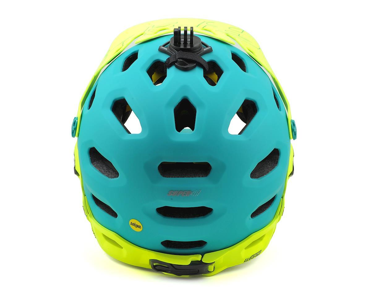 Bell Super 3R MIPS Convertible MTB Helmet (Matte Emerald/Retina Sear) (L)