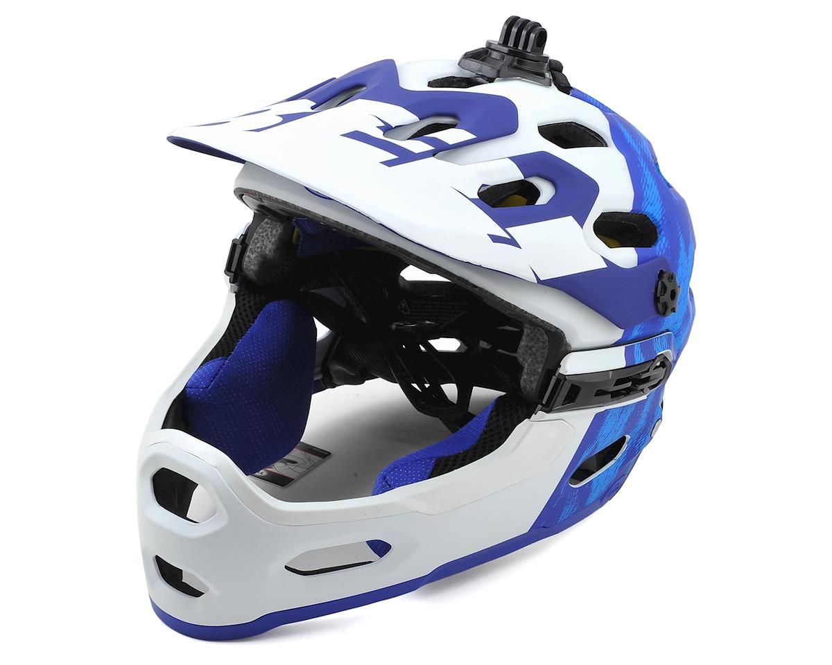 Bell Super 3R MIPS Convertible MTB Helmet (Matte Force Blue/White)