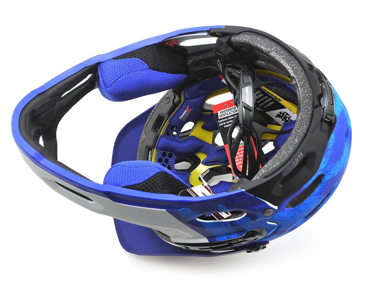 Bell Super 3R MIPS Convertible MTB Helmet (Matte Force Blue/White) (L)
