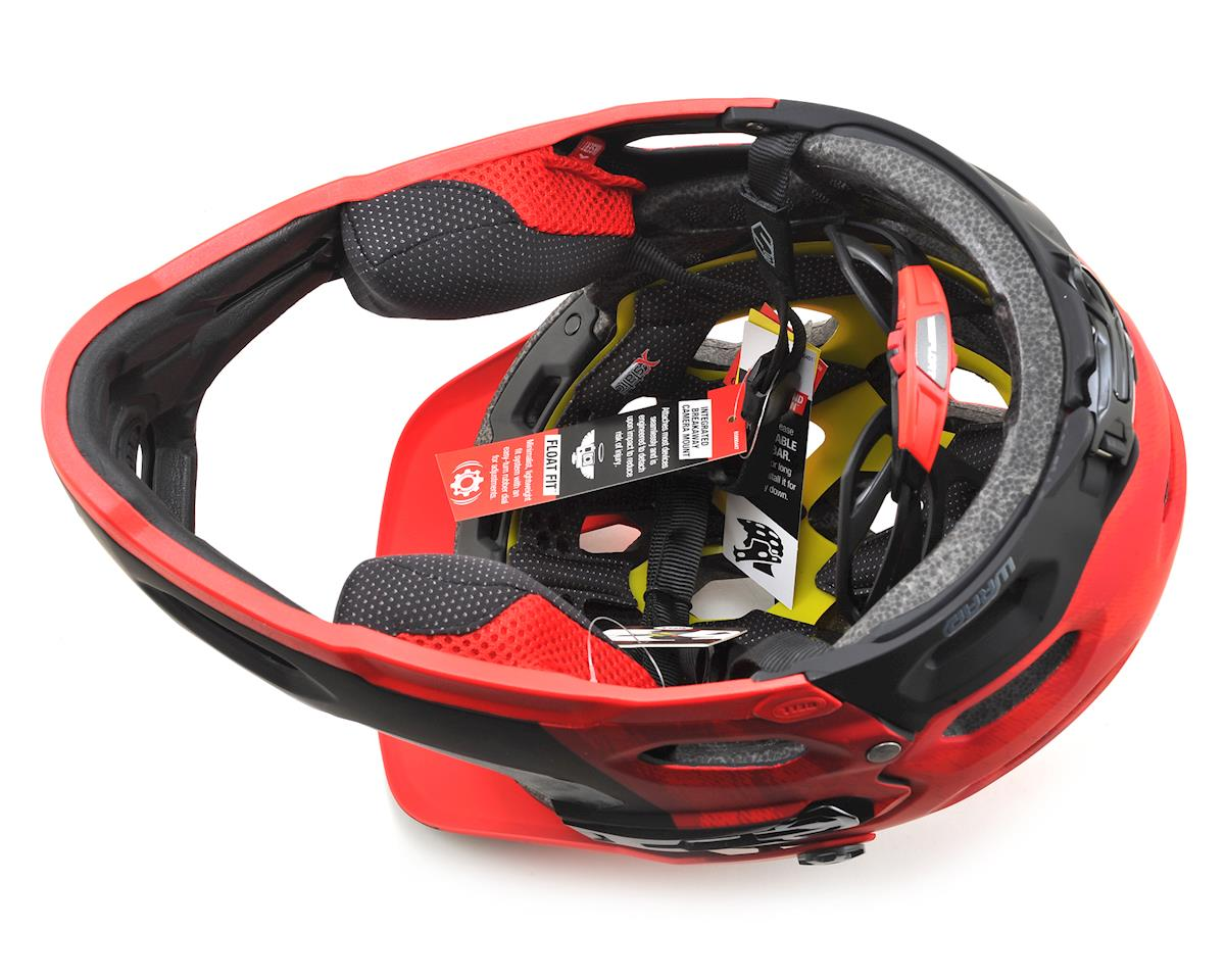 Bell Super 3R MIPS Convertible MTB Helmet (Matte Red/Marsala/Black) (S)