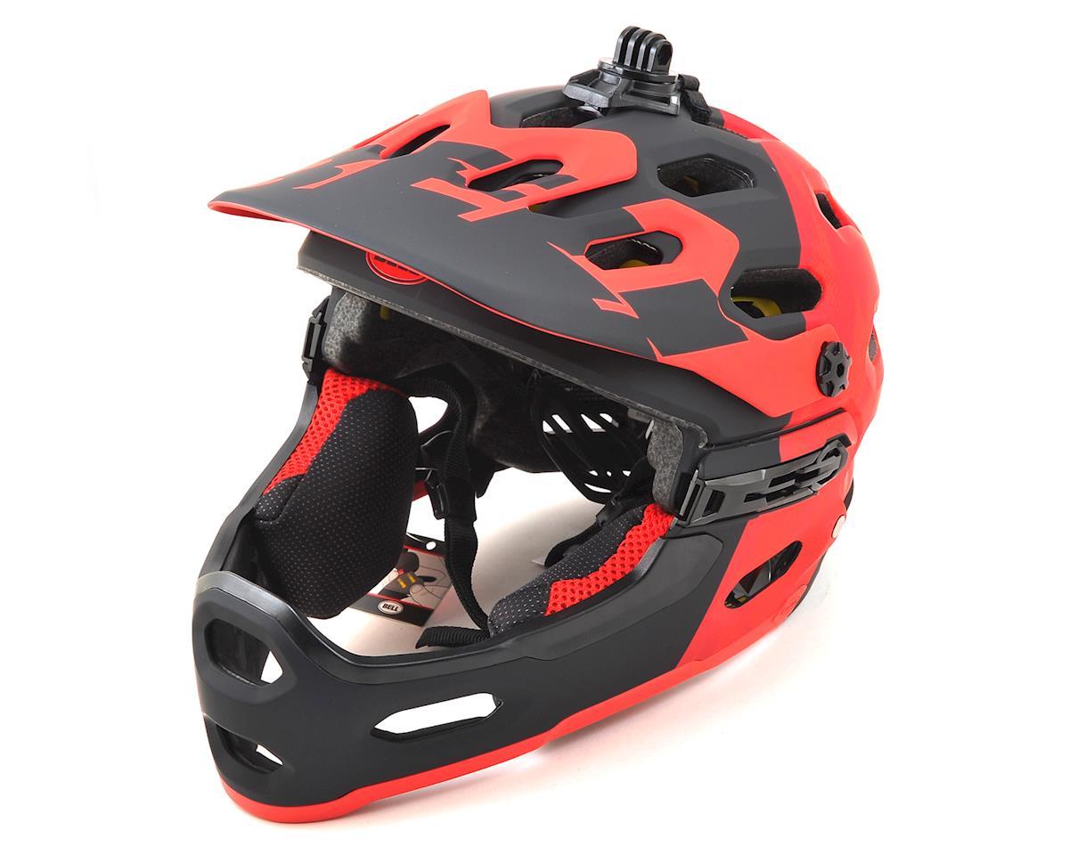 Bell Super 3R MIPS Convertible MTB Helmet (Matte Red/Marsala/Black) (M)