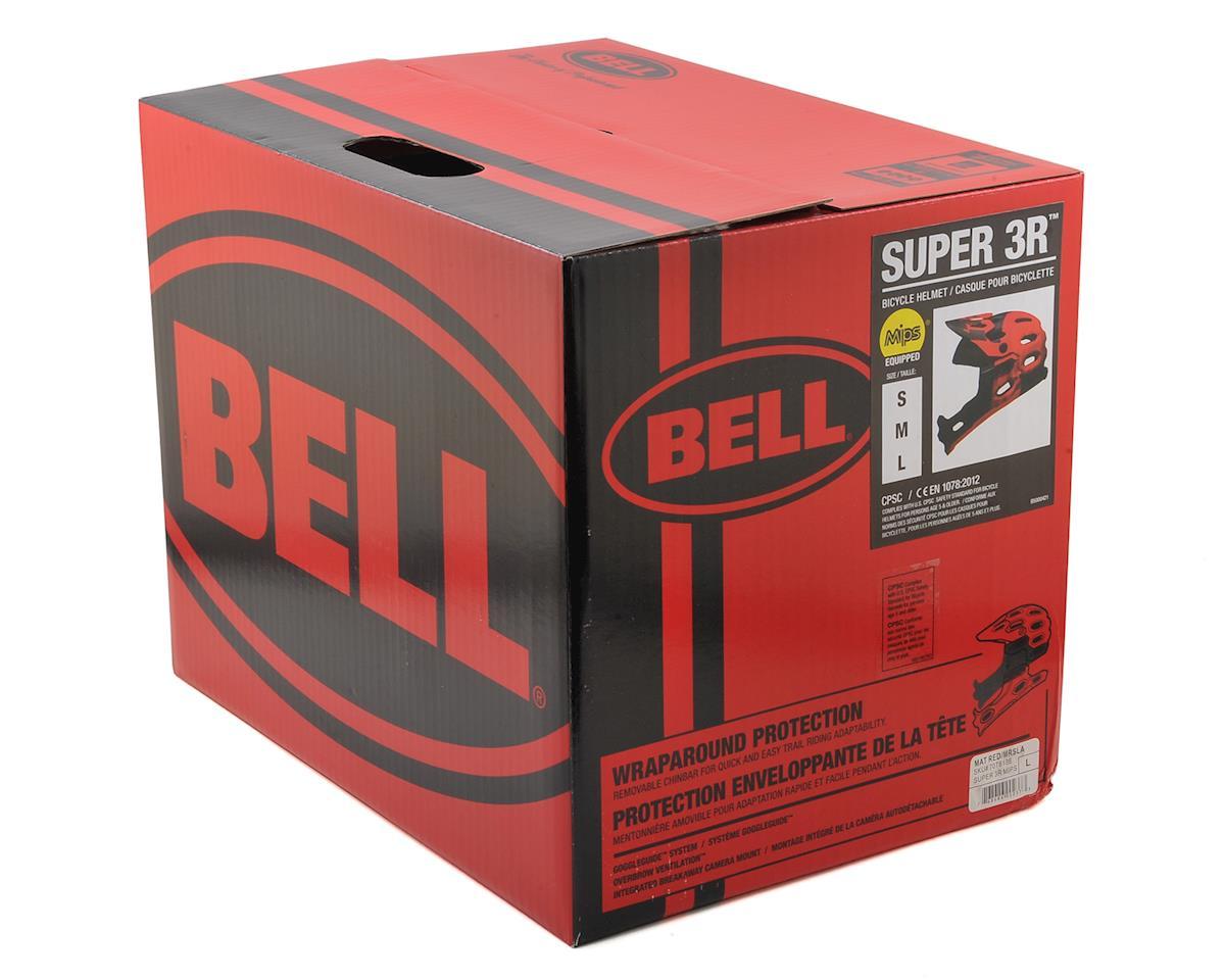 Bell Super 3R MIPS Convertible MTB Helmet (Matte Red/Marsala/Black) (L)