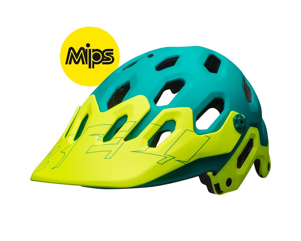 Image 1 for Bell Super 3 MIPS Mountain Helmet (Matte Emerald/ Retina Sear)