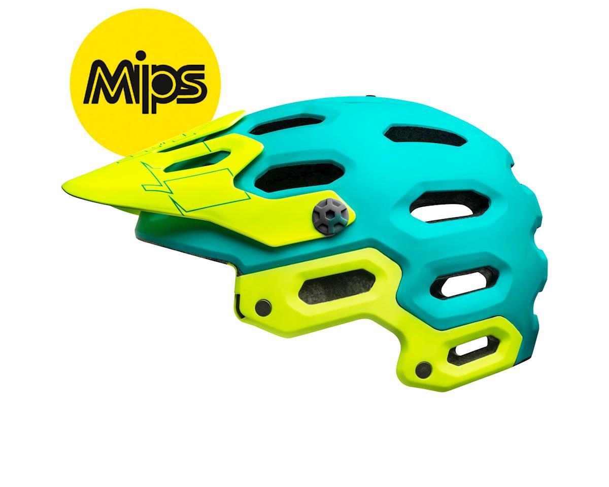 Image 2 for Bell Super 3 MIPS Mountain Helmet (Matte Emerald/ Retina Sear)