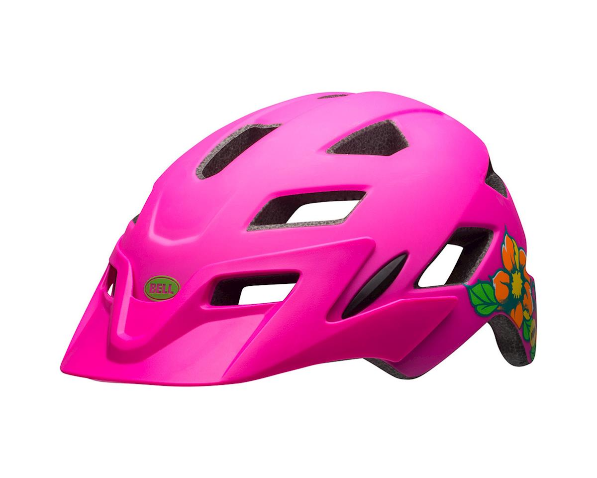 Image 1 for Bell Sidetrack Youth Mountain Helmet (Matte Pink Blossom)