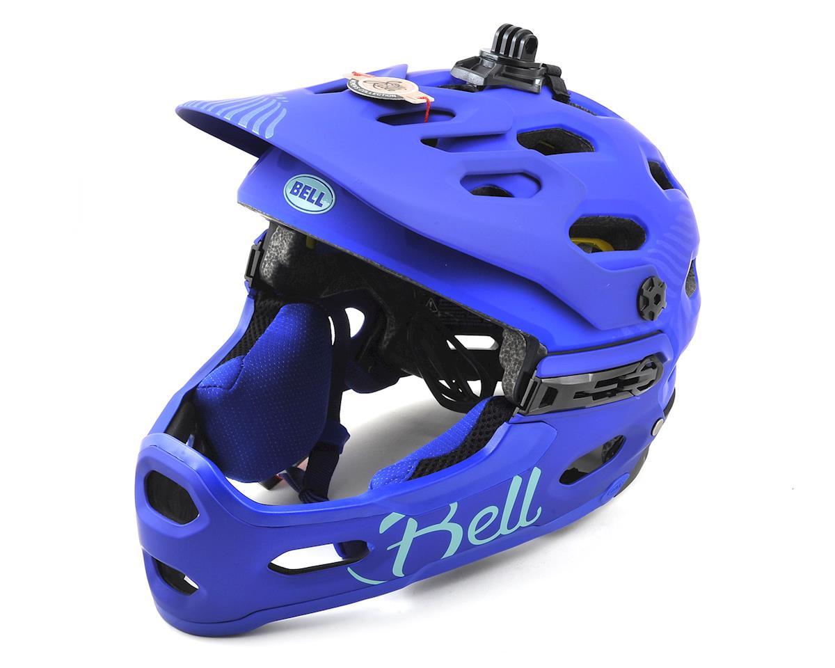 Bell Super 3R MIPS Joyride Women s MTB Helmet (Matte Cobalt Pearl) (M) eb56409bb