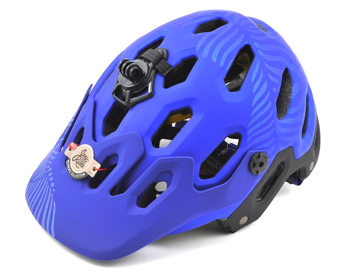 Bell Super 3R MIPS Joyride Women's MTB Helmet (Matte Cobalt/Pearl) (L)
