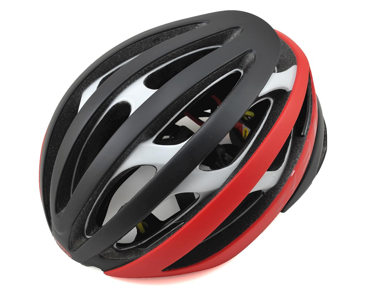 Zephyr MIPS Road Helmet (Matte Black/Red/White)