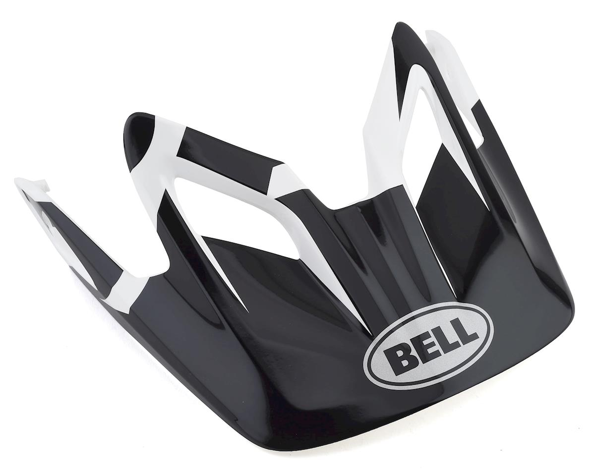 Bell Tansfer 9 Replacement Visor (Black/Red/White)