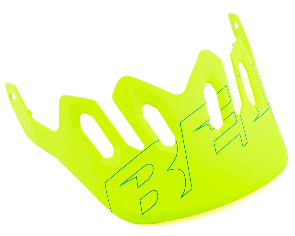 Bell Super 3R/3 Replacement Visor (Matte Retina/Emerald)