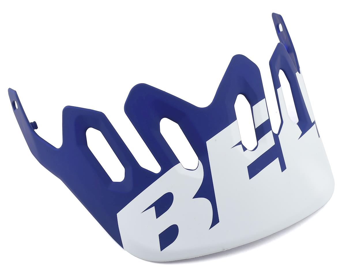 Bell Super 3R/3 Replacement Visor (Matte White/Blue)