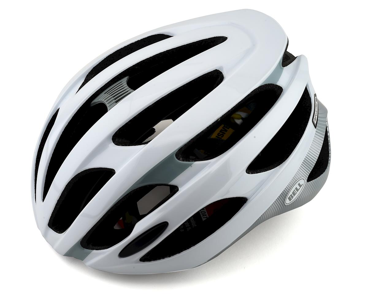 Bell Falcon MIPS Road Helmet (White/Smoke) (XL)