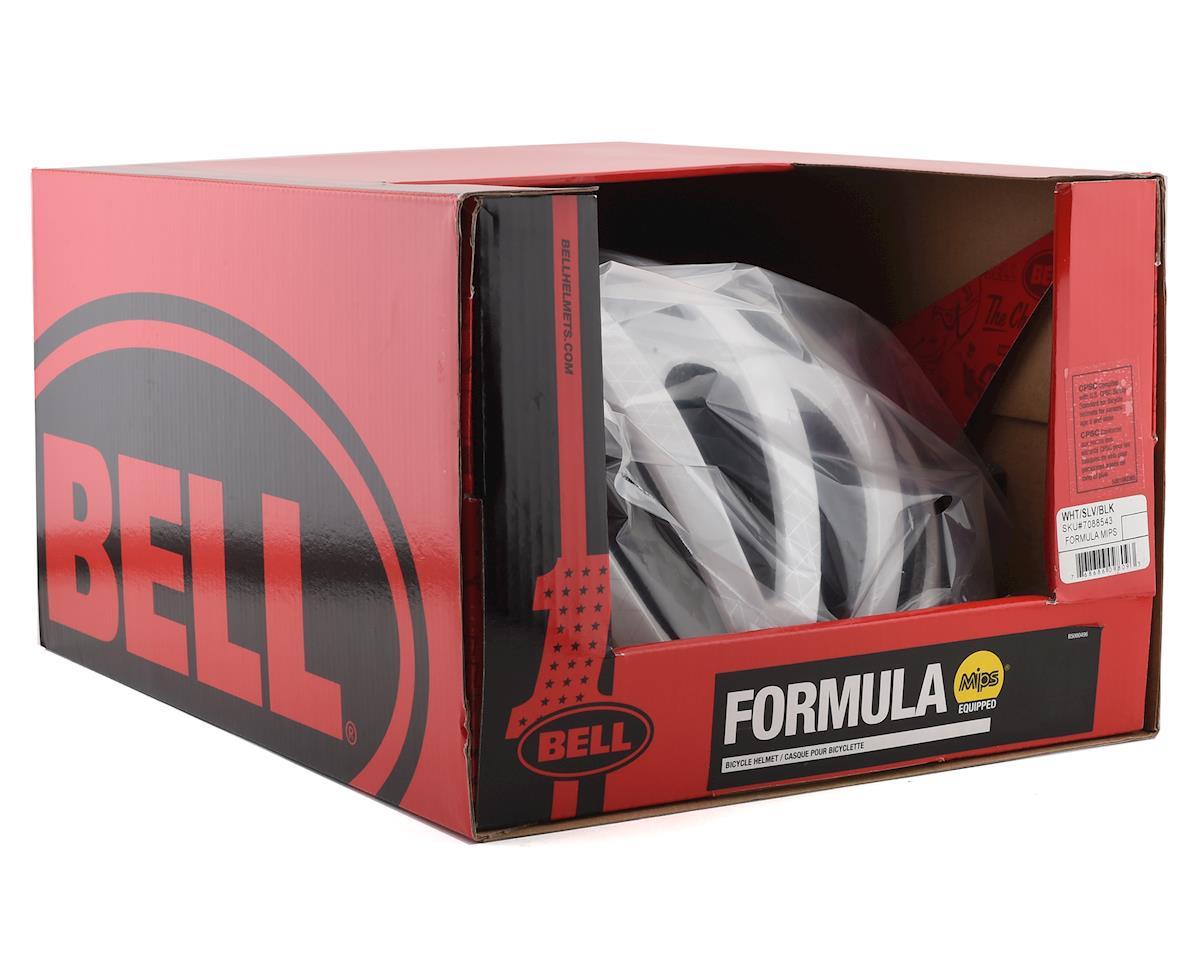 Bell Formula MIPS Road Helmet (White/Silver/Black) (L)