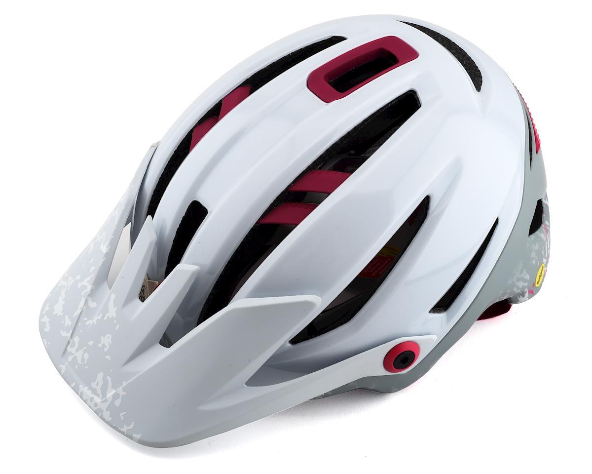 Bell Sixer MIPS Womens Mountain Helmet (Matte White/Cherri Joy) (M)