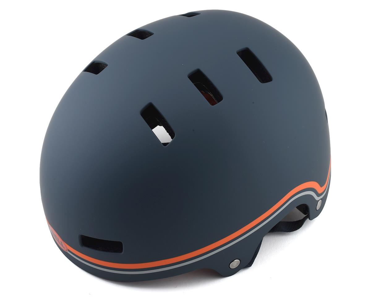 Bell Local BMX Helmet (Classic Matte Slate/Orange) (M)
